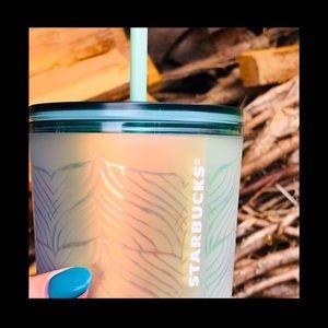 🌼Starbucks Undersea Mermaid Tail Plastic Cold Cup